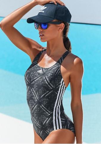 adidas Performance Badeanzug, mit sportlichem Druck kaufen