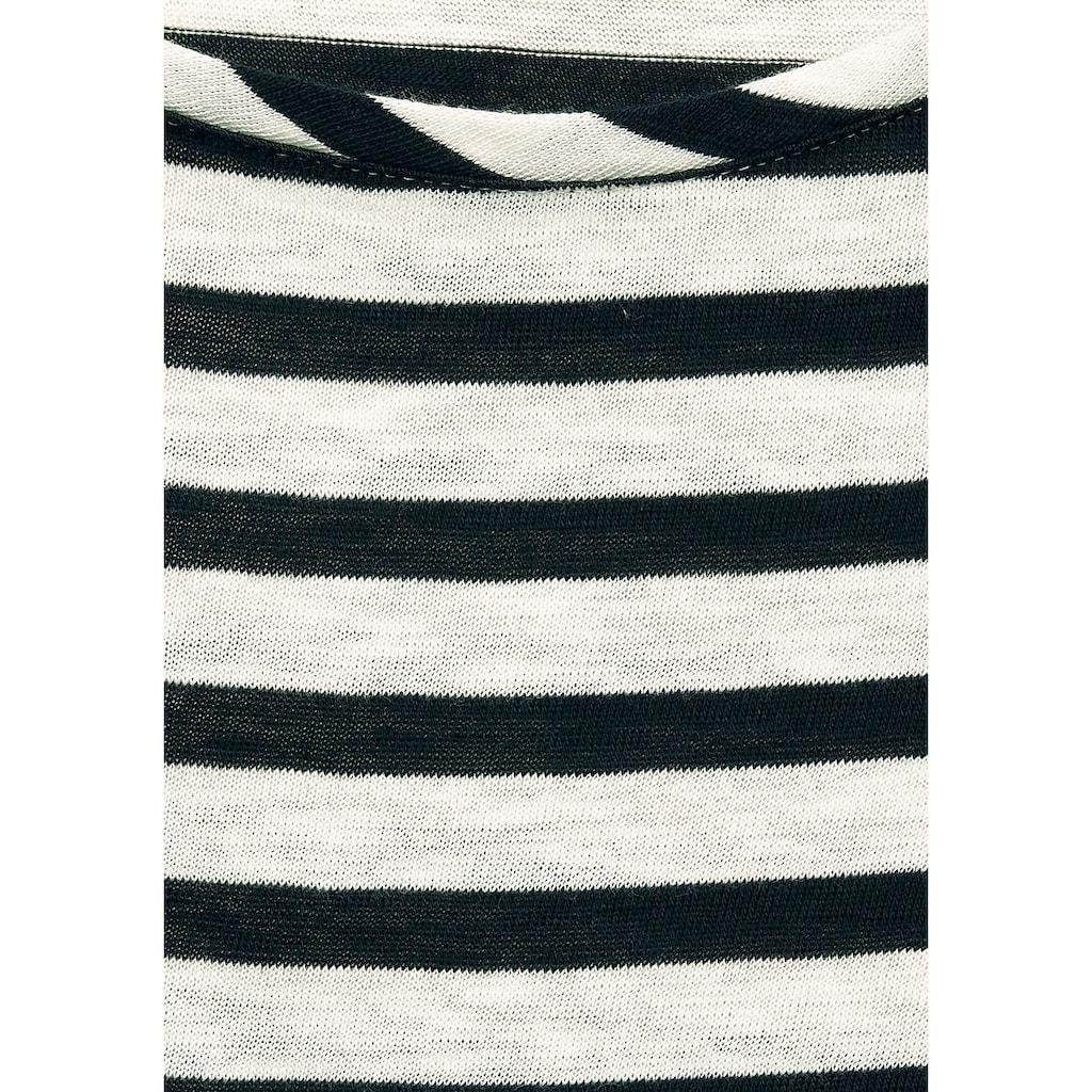 Cecil T-Shirt, im angesagten Streifenmuster