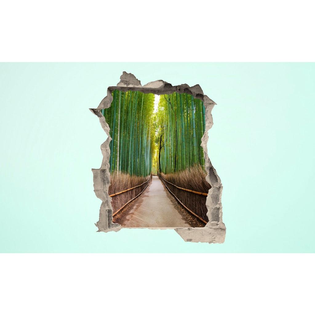 Conni Oberkircher´s Wandsticker »3 D Sticker Beton Bamboo Trees«