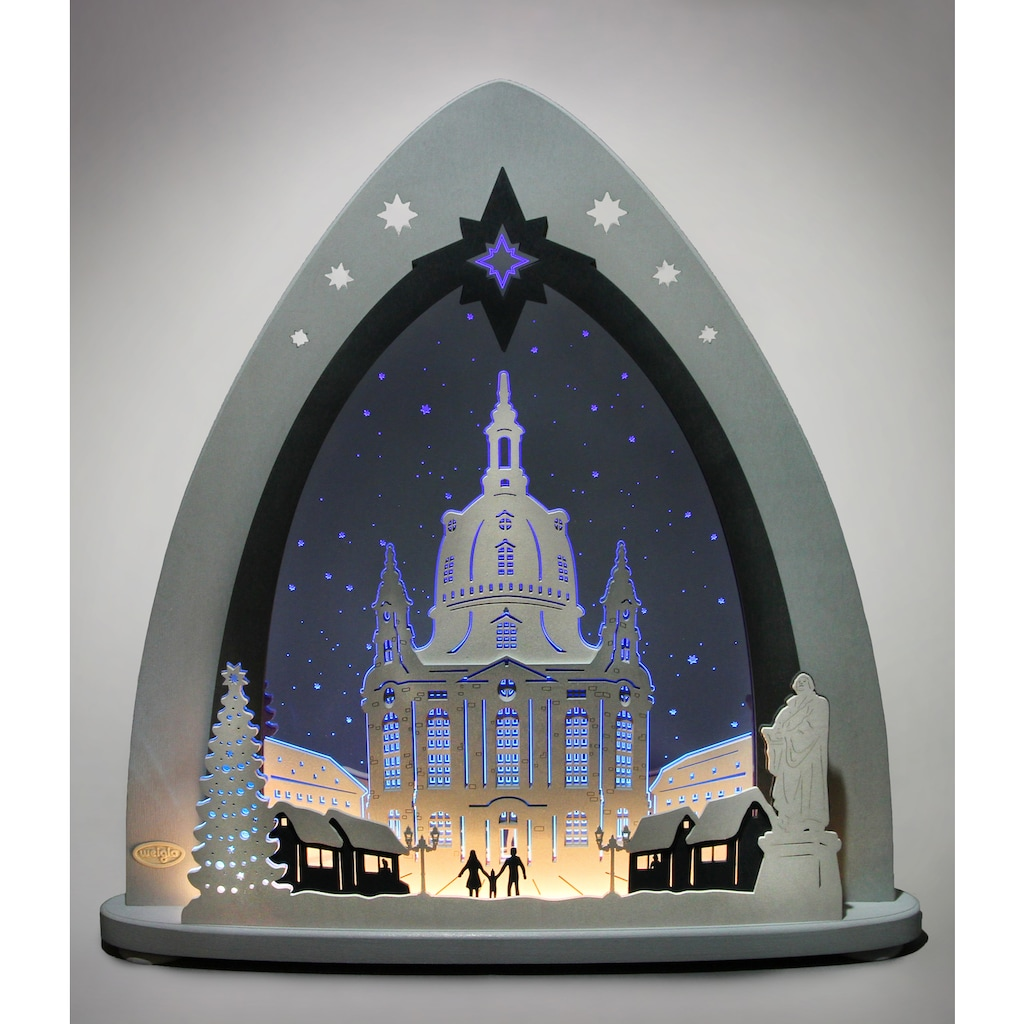 Weigla Lichterbogen »Dresdner Frauenkirche«, in 3D Optik