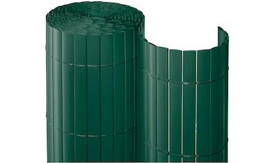 Balkonsichtschutz BxH: 1000x90 cm, dunkelgrün kaufen