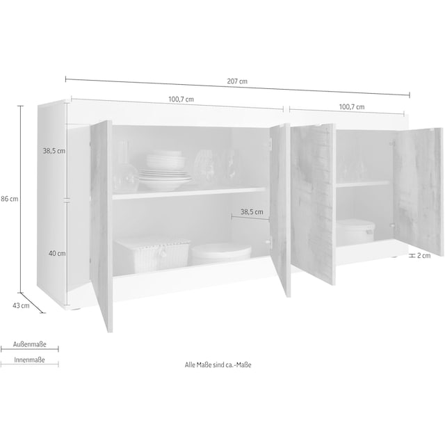 LC Sideboard »Basic«