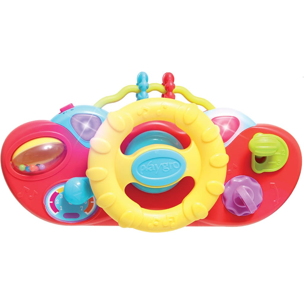 Playgro Baby Gym »Plüschauto«, mit Musik- und Lichteffekten