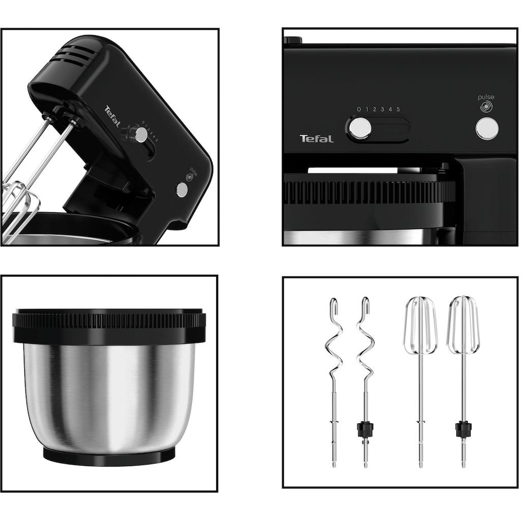Tefal Küchenmaschine »Oh My Cake QB1108«, 300 W, 4 l Schüssel, sehr kompakt; Auto-Rotation