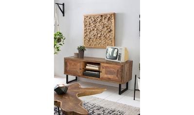 SIT Lowboard »Parquett«, aus recyceltem Teakholz, Breite 130 cm kaufen