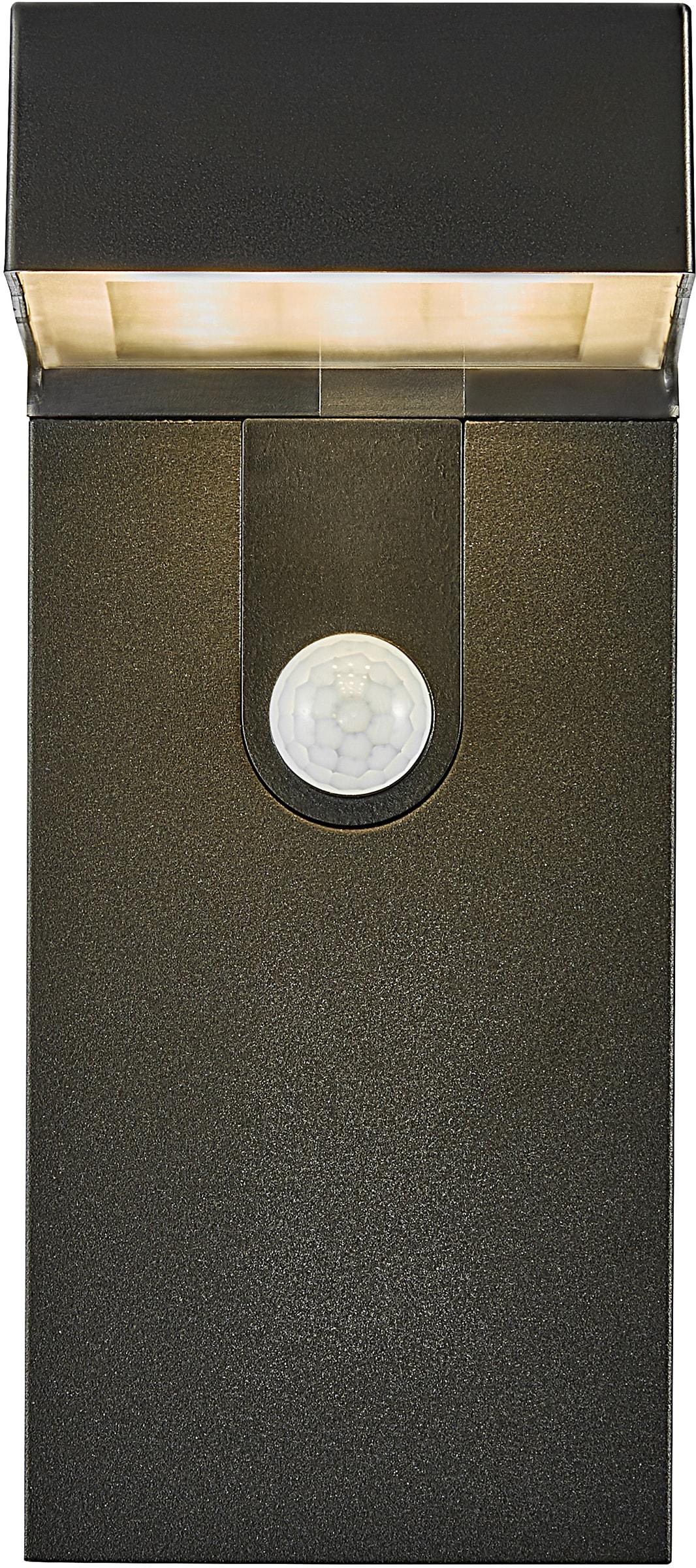 Nordlux LED Außen-Wandleuchte ALYA, LED-Modul, 5 Jahre Garantie auf die LED/ Solar Modul