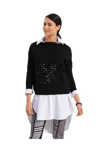 Amy Vermont Sweatshirt, mit Pailletten-Deko im Vorderteil kaufen