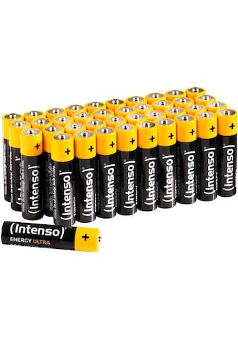 Intenso »Energy Ultra AAA LR03« Batterie (40 Stück) kaufen