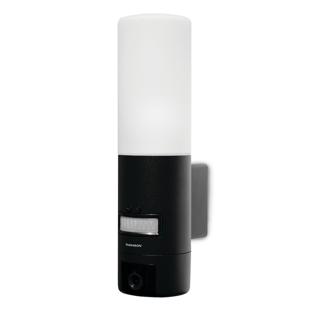 Thomson Smart Home Kamera »OUTDOOR, WLAN IP-Kamera 720 P«, Außenbereich, Außenkamera mit Bewegungsmelder und Lampe