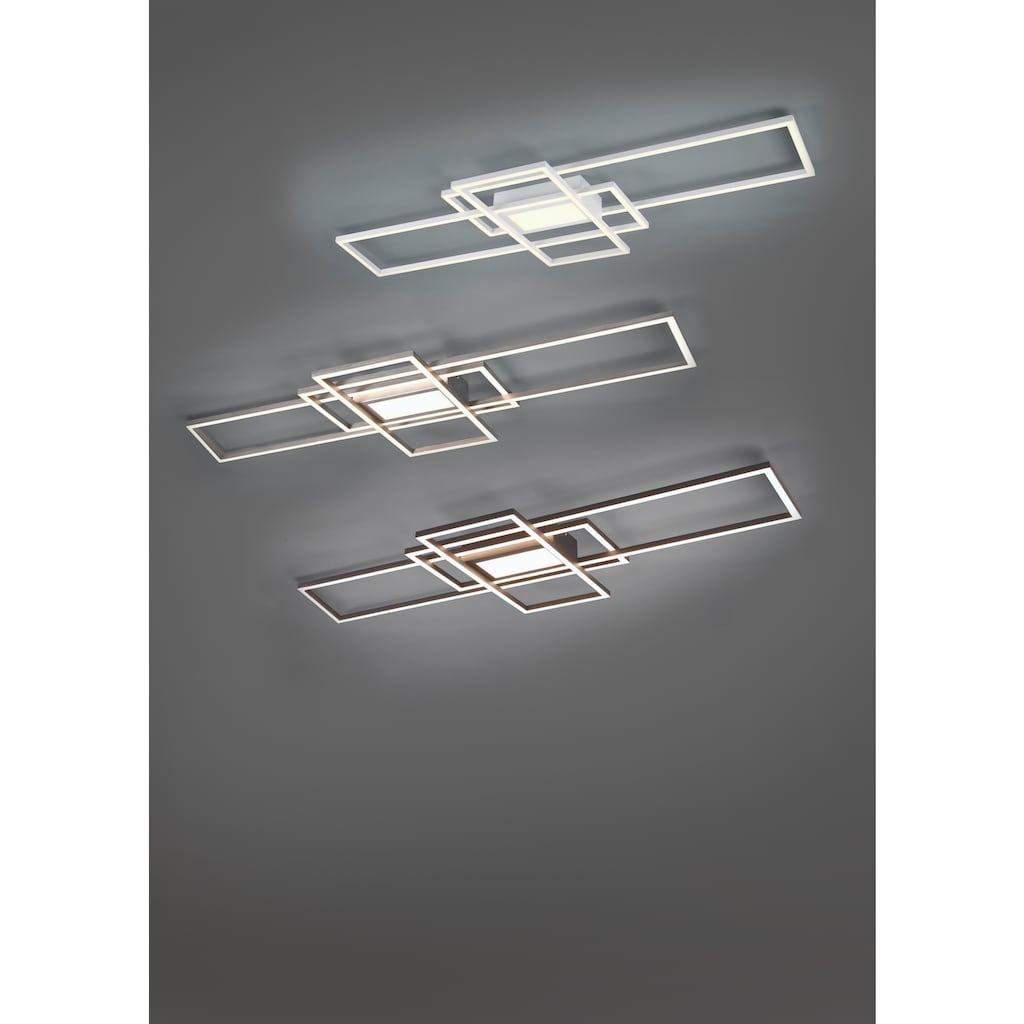 TRIO Leuchten LED Deckenleuchte »MILA«, LED-Modul, Farbwechsler, inkl. Fernbedienung, dimmbar, Memory-Funktion, Farbtemperatur-Steuerung 3000 - 6500K, 5 Jahre LED-Funktionsgarantie