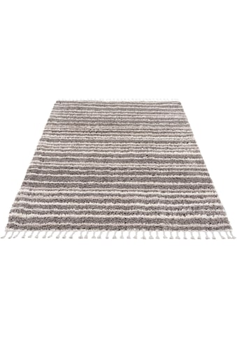 Hochflor - Teppich, »Pulpy 520«, Carpet City, rechteckig, Höhe 30 mm, maschinell gewebt kaufen