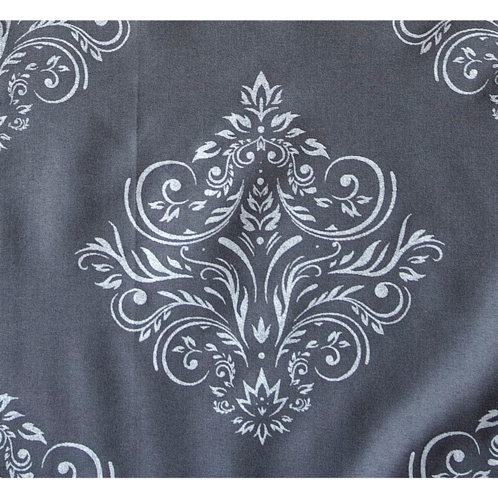 Goldmond Bettwäsche »Metallic Ornamente«, hochwertiger Metallicdruck