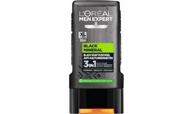 L'ORÉAL PARIS MEN EXPERT Duschgel »Black Mineral Anti-Spot Showergel«, (Packung, 6 tlg.) kaufen