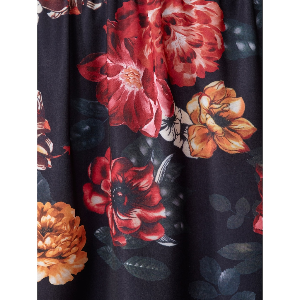 Sara Lindholm by HAPPYsize Maxirock, mit großen Blumen