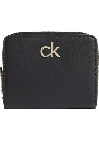 Calvin Klein Geldbörse »RE-LOCK Z/A WALLET W/FLAP MD«, im kleinen Format kaufen