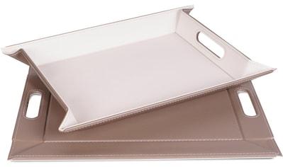 freeform Tablett, mit Doppelfunktion, 41 x 55 cm kaufen
