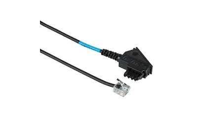 Hama DSL - Splitter - Anschlusskabel, TAE - F - Stecker  - Modular - Stecker »6p2c, 0,50 m« kaufen