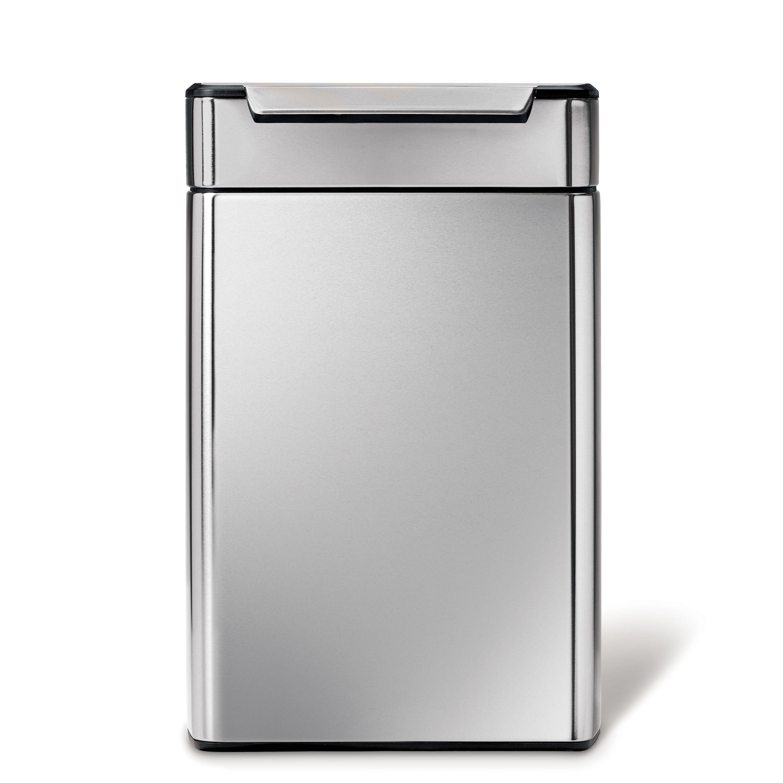 """simplehuman Mülltrennsystem """"48L touch-bar Recycler Abfalleimer"""" Wohnen/Haushalt/Haushaltswaren/Reinigung/Mülleimer/Mülltrennsysteme"""