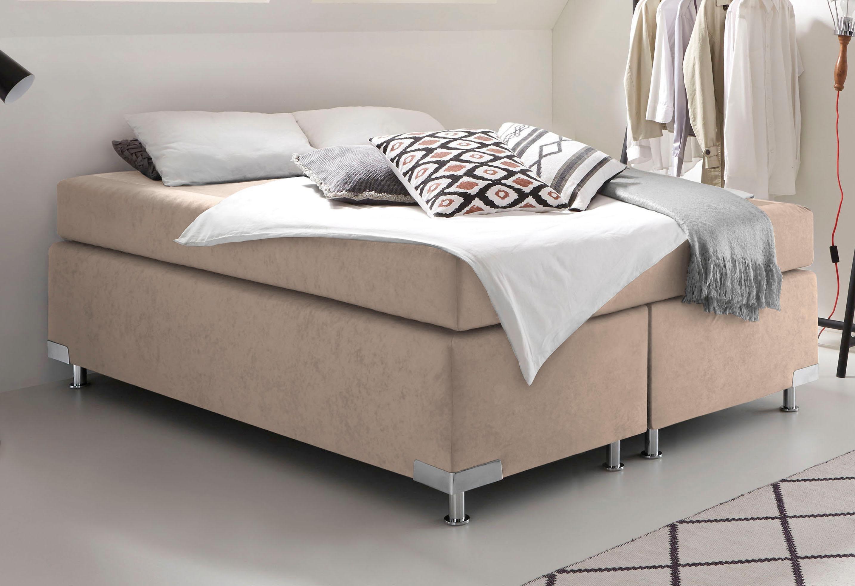westfalia schlafkomfort boxspringbett ohne kopfteil frei