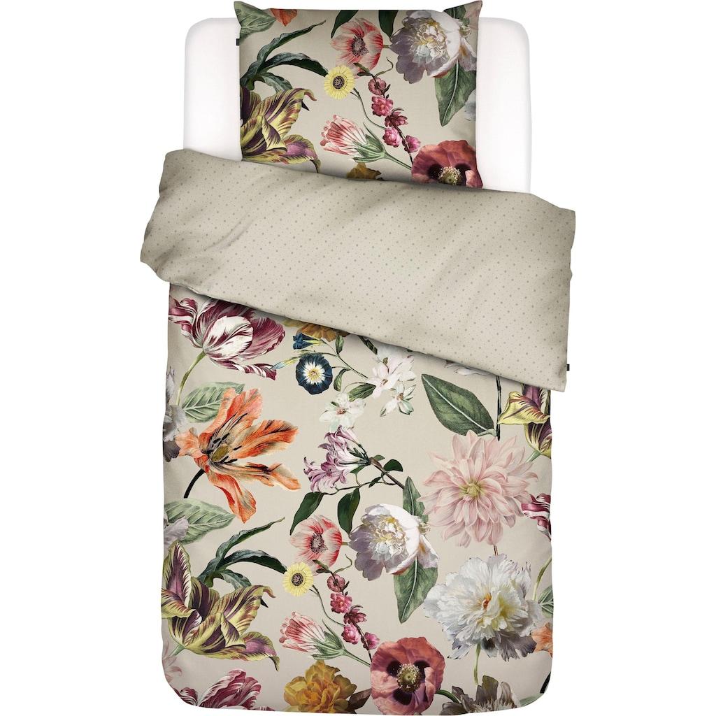 Essenza Wendebettwäsche »Filou«, mit niederländischem Blütenmuster