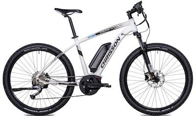 Chrisson E - Bike »E - MOUNTER 1.0«, 9 Gang Shimano Acera RD - M3000 - SGS Schaltwerk, Kettenschaltung, Mittelmotor 250 W kaufen