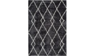 me gusta Hochflor-Teppich »Orlando 100«, rechteckig, 27 mm Höhe, besonders weich durch... kaufen