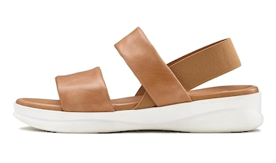 LASCANA Sandale, aus Leder mit modischer Sohle kaufen
