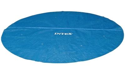 Intex Solarabdeckplane, 290 cm Durchmesser, mit Transporttasche kaufen