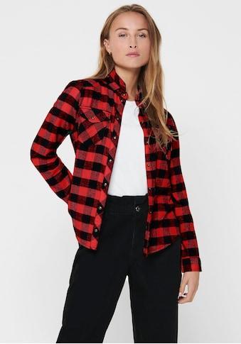Only Karobluse »ONLROCK IT LS CHECK SHIRT« kaufen