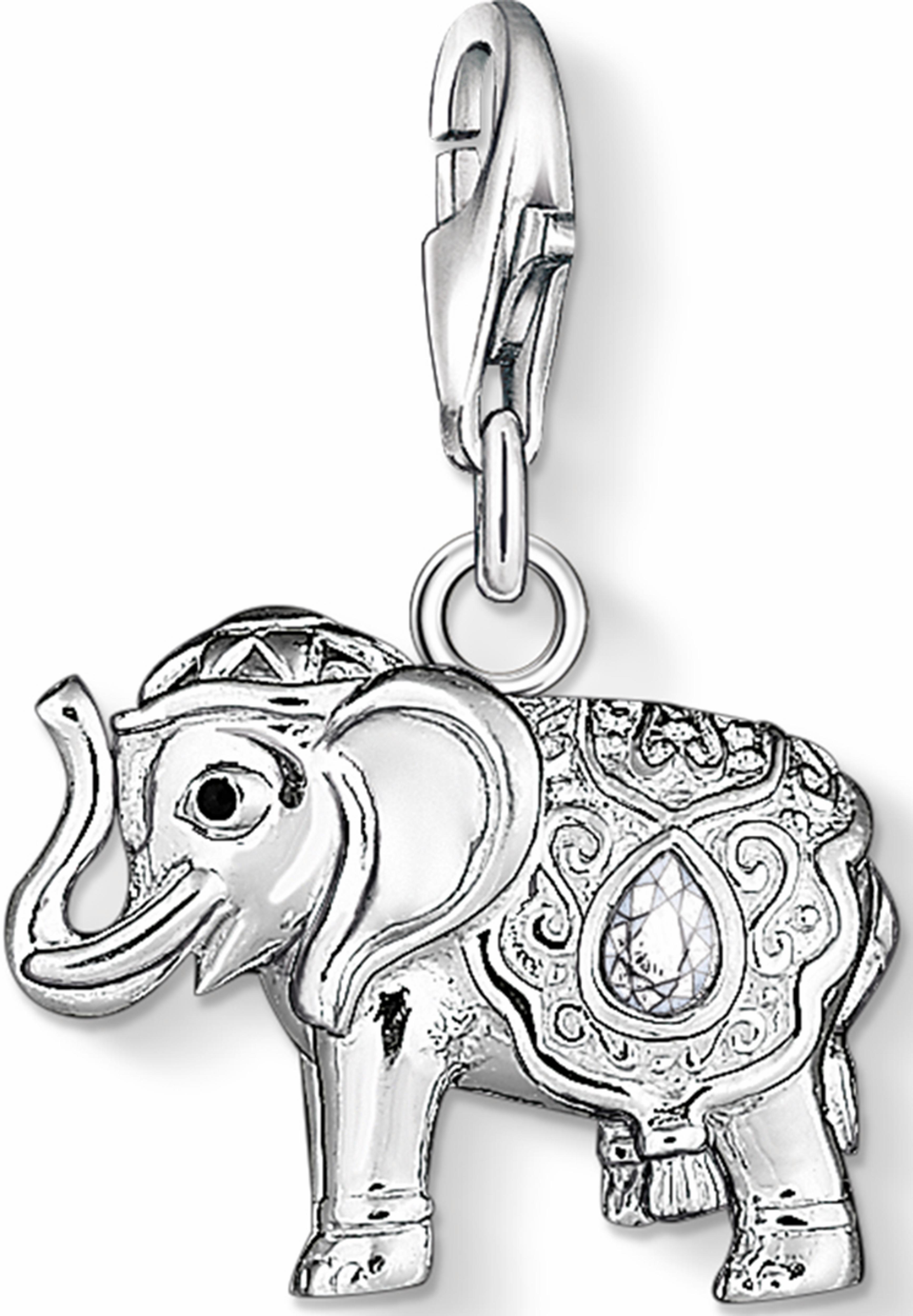 THOMAS SABO Charm-Einhänger Elefant 1050-041-14 | Schmuck > Charms | Thomas Sabo
