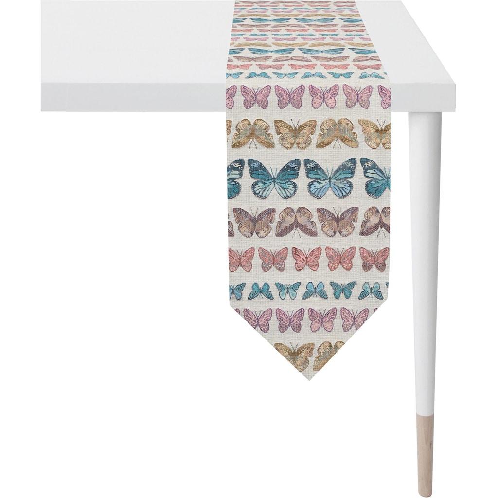 APELT Tischband »1554 Summergarden«, Gobelingewebe