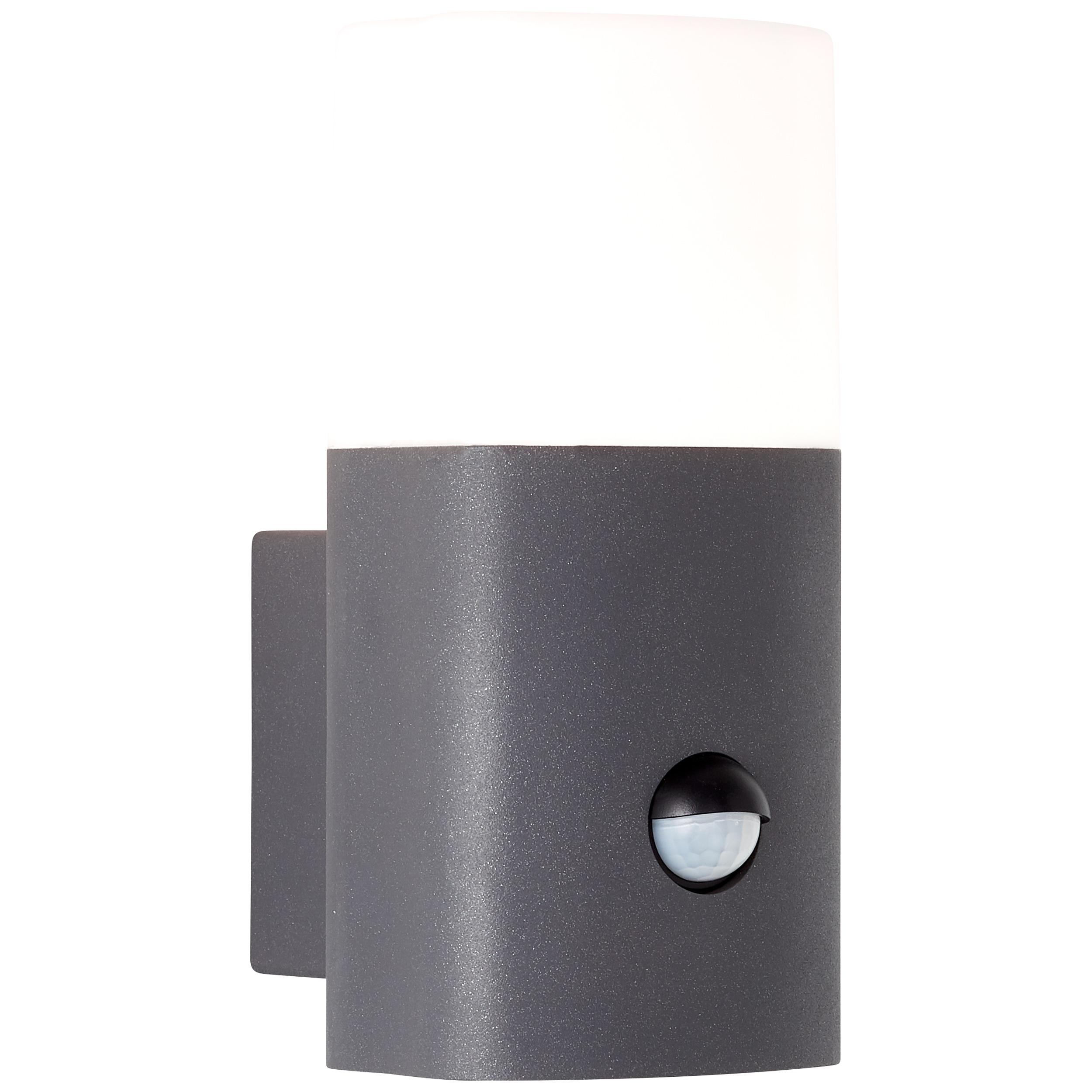 AEG Farlay LED Außenwandleuchte stehend Bewegungsmelder anthrazit