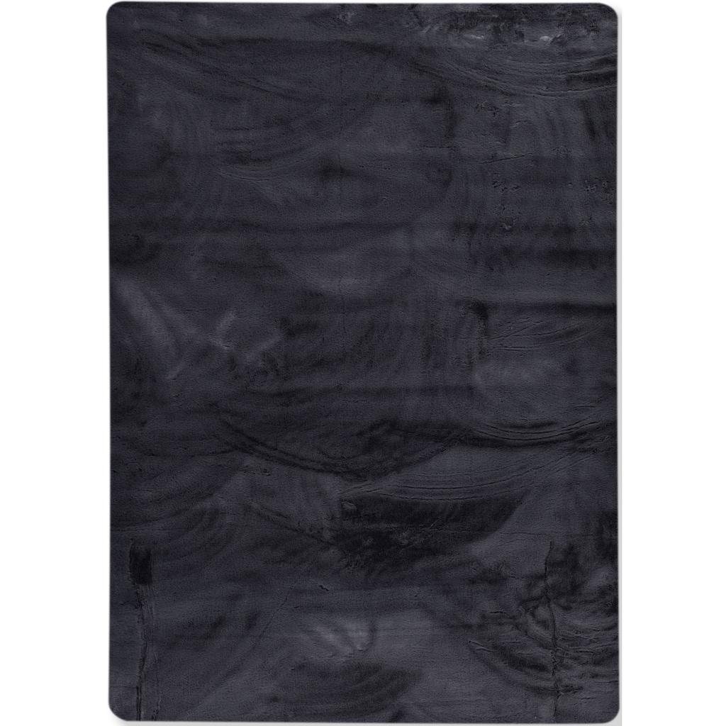 Gino Falcone Fellteppich »Kuschelteppich Chiara«, rechteckig, 30 mm Höhe, Kunstfell, Kaninchenfell-Haptik, besonders weich, Wohnzimmer