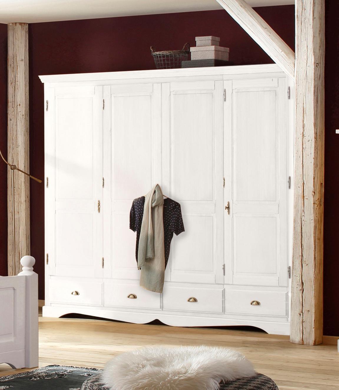 Home affaire Kleiderschrank Teo in vier verschiedenen Breiten und zwei unterschiedlichen Farben