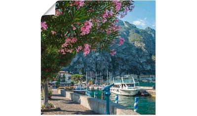 Artland Wandbild »Gardasee Hafen Limone sul Garda« kaufen
