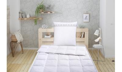 Älgdröm Feder-/Daunenbettdecke + Kopfkissen »Finja«, (2 St.), mit skandinavischen Design! kaufen