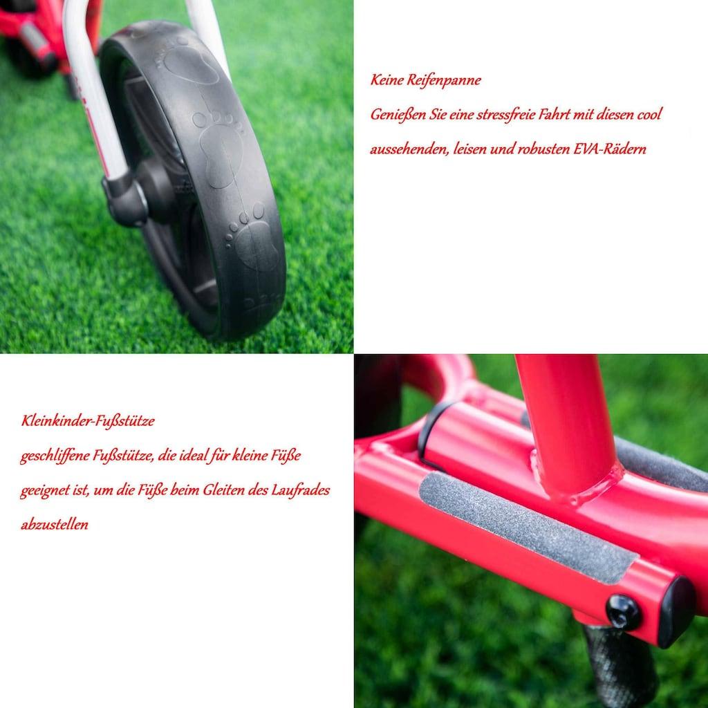 smarTrike® Laufrad »Folding Balance Bike, rot«, faltbar