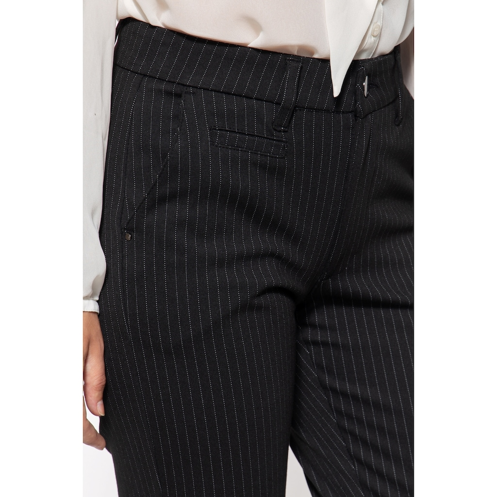ATT Jeans Stretch-Hose »Sophie«, mit Nadelstreifen