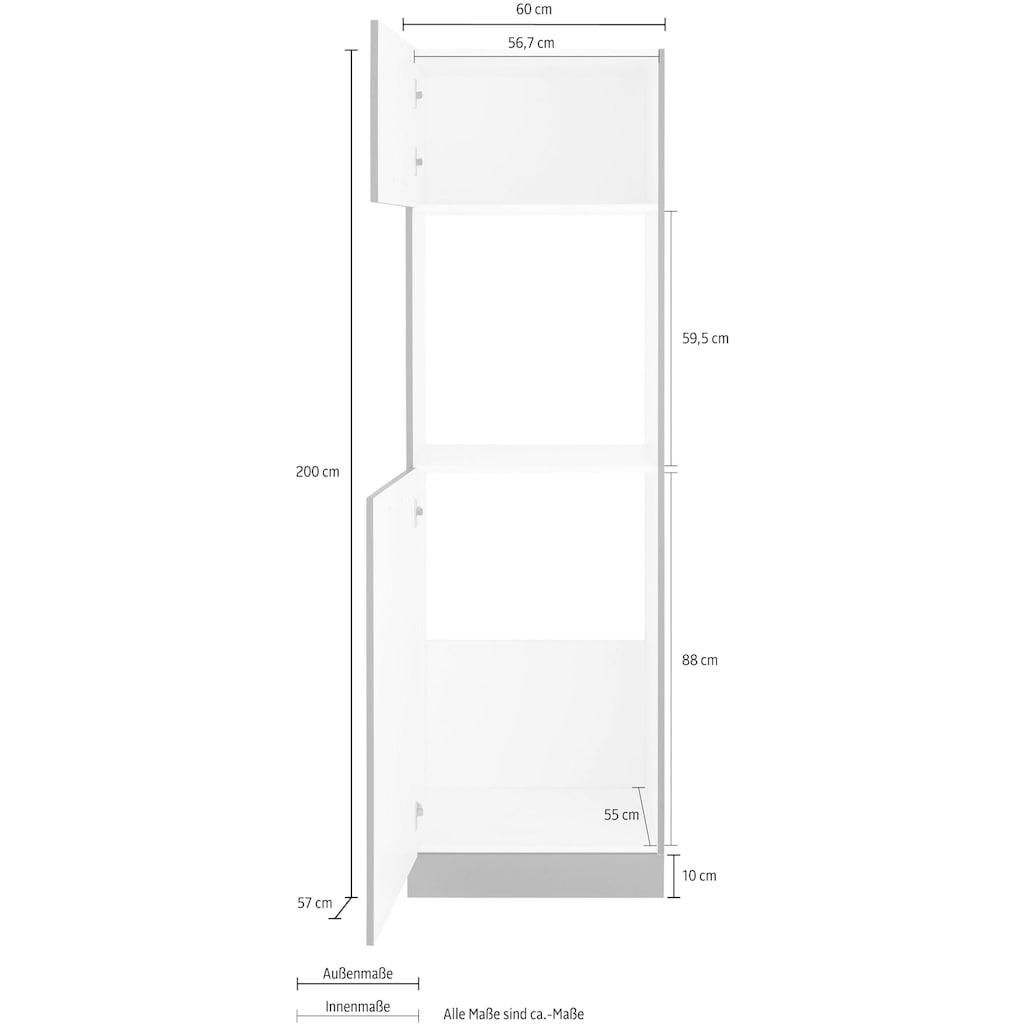 wiho Küchen Backofen/Kühlumbauschrank »Esbo«, 60 cm breit