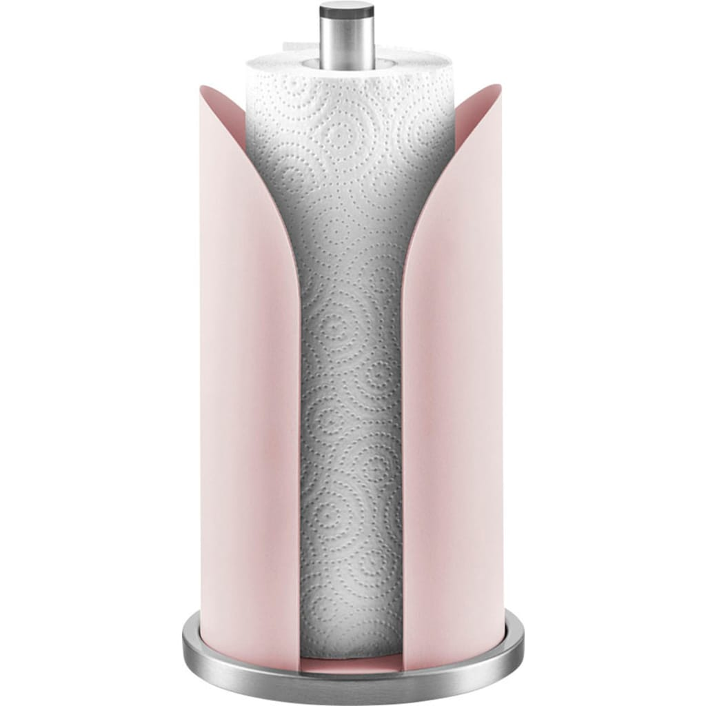 Zeller Present Küchenrollenhalter, rosé, edelstahlfarben
