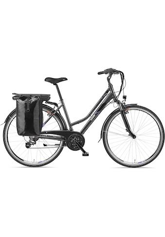Telefunken E-Bike »Expedition XT480«, 21 Gang, Shimano, Altus, Heckmotor 250 W, mit Fahrradtasche kaufen