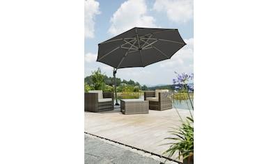 Schneider Schirme Ampelschirm »Rhodos Rondo«, mit Schutzhülle und Schirmständer, ohne... kaufen