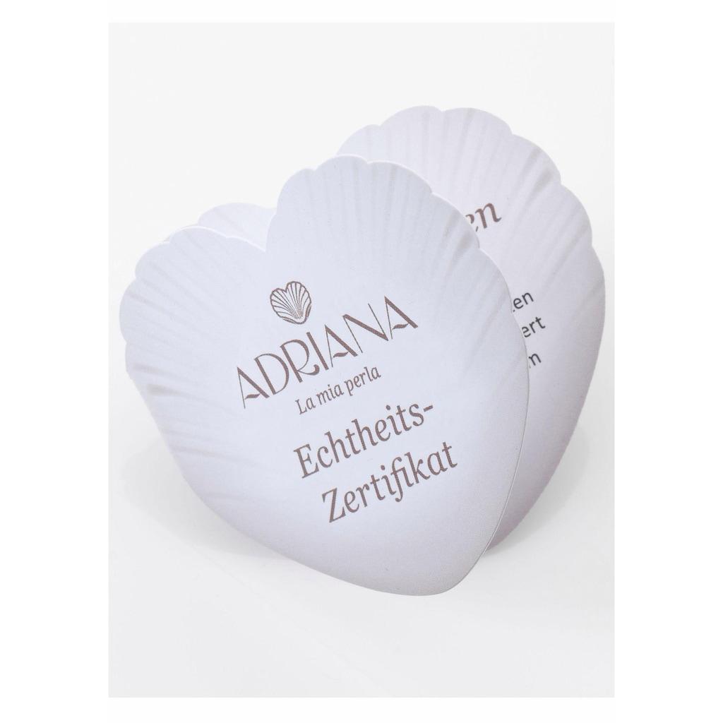 Adriana Perlenkette »La mia perla, Romantica, R6«, mit Süßwasserzuchtperlen