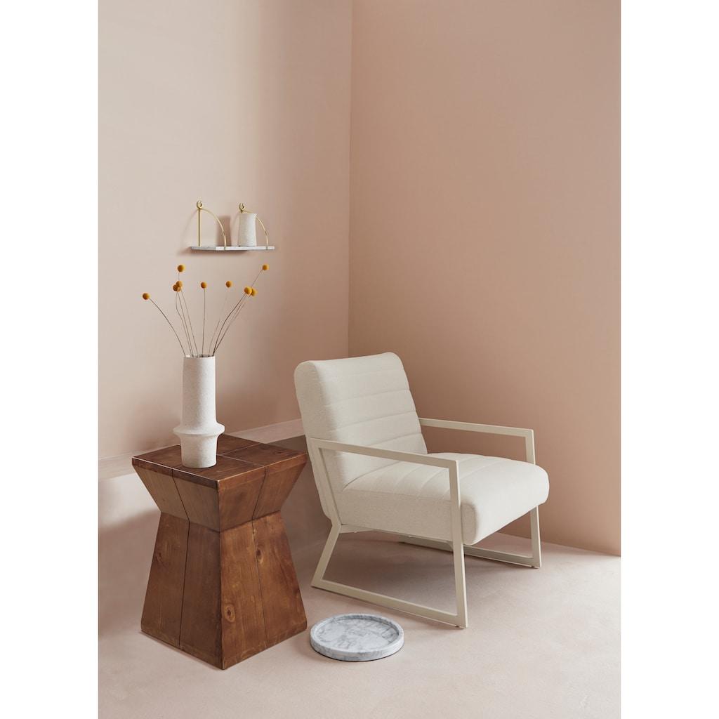 LeGer Home by Lena Gercke Beistelltisch »Lisanne«, Gestell aus Massivholz, moderne Form