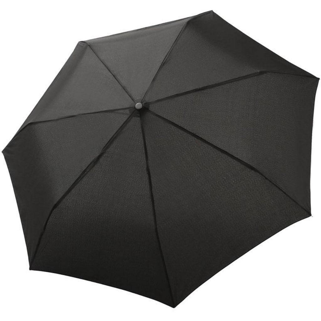 bugatti Taschenregenschirm »Buddy Duo, Black«