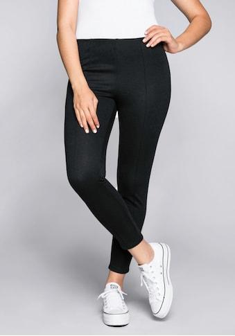 Sheego Jerseyhose, in optisch streckender Form kaufen