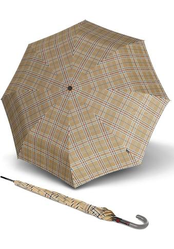Knirps® Stockregenschirm »T.703 Stick Automatic, Check Beige« kaufen