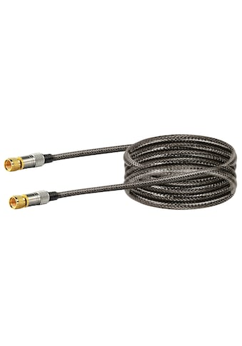 SCHWAIGER HDTV Satellitenkabel, SAT Kabel 4-fach geschirmt, F-Stecker »in... kaufen