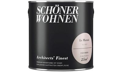 SCHÖNER WOHNEN FARBE Wand -  und Deckenfarbe »Architects' Finest  -  Le Marais«, 2 l kaufen