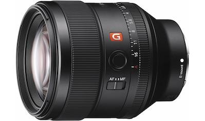 Sony Objektiv »SEL-85F14GM E-Mount Porträt«, SEL-85mm F1.4 GM E-Mount Porträt kaufen